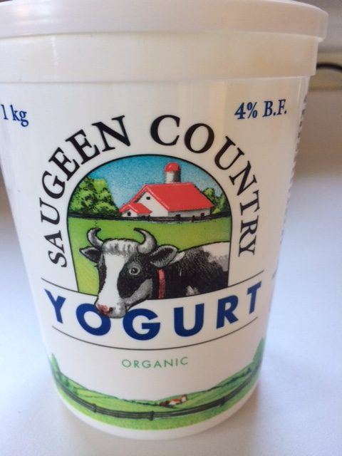 Saugeen Country Organic Yogurt